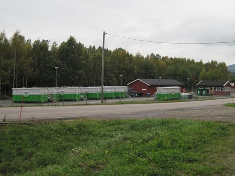 Åsnes recycling station